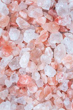 Close-up van roze Himalaya zout l Food fotografie van Lizzy Komen