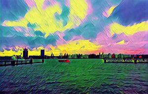 Het Ij, Amsterdam von Alles Erop
