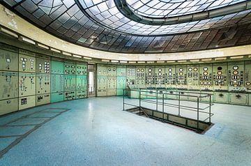 Controle Kamer in Kelenfold Energie Centrale. van