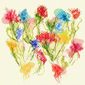 Wilde Blumen von Joost Hogervorst
