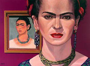 Frida Kahlo-Malerei