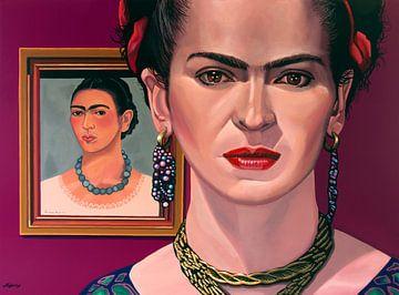 Frida Kahlo-Malerei von Paul Meijering