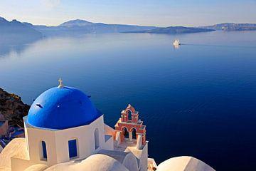 Santorini, Griechenland van Hans-Peter Merten