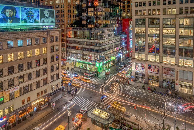 New York streets van Reinier Snijders