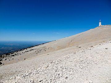 Flank van de Mont Ventoux in de Provence van Stefan Peys