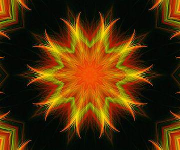 Mandala - Schwingungen van Doris Kroos