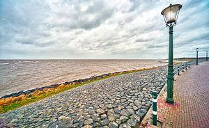 Stormachtig IJsselmeer