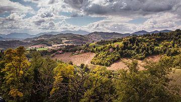 Heuvels van Urbino van Rob Boon
