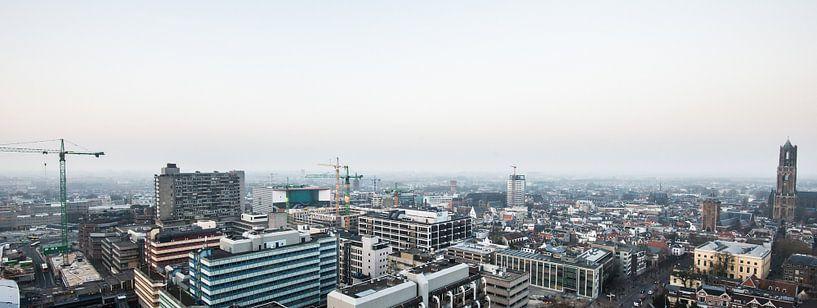 Zicht over centrum, Utrecht van De Utrechtse Internet Courant (DUIC)