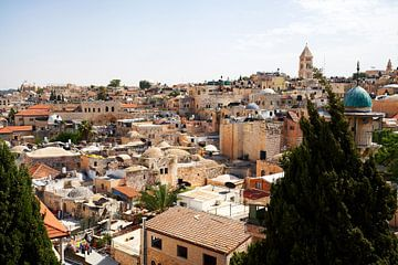 Jeruzalem Oude Stad van Reto Meier