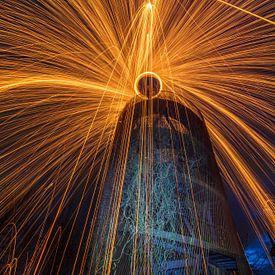 Lightpainting van Lisa Antoinette Photography