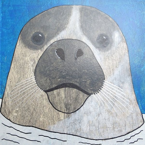 Zeehond van hou2use