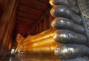 Liggende Boeddha in Bangkok.