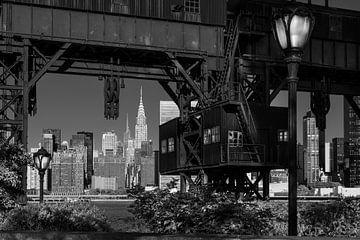 Blick auf Midtown Manhattan von Kurt Krause