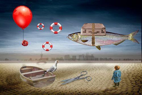 Ein Fisch auf Reisen