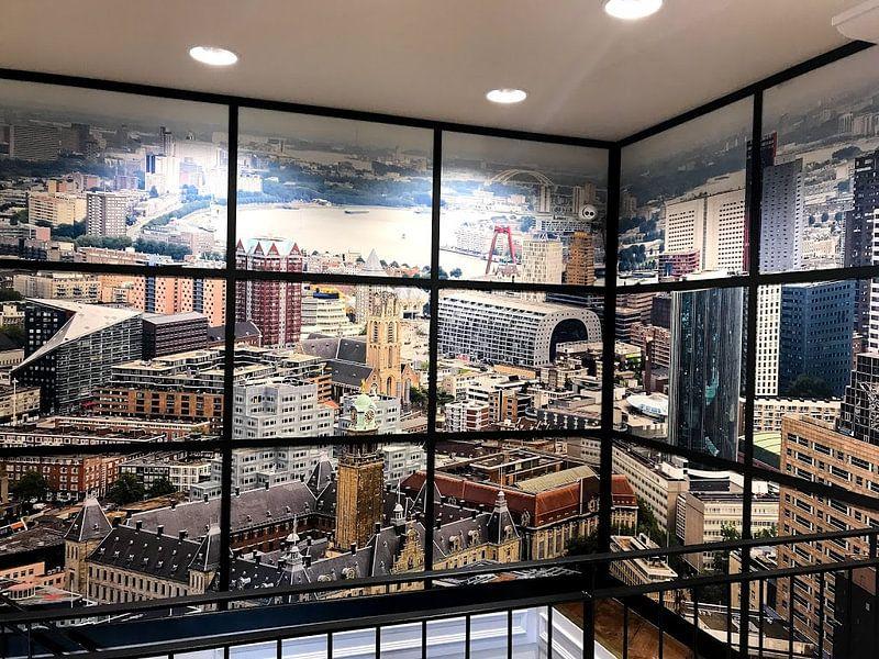 Kundenfoto: Skyline von Rotterdam von MS Fotografie