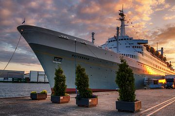Beautiful Rotterdam - The Steamship SS Rotterdam sur