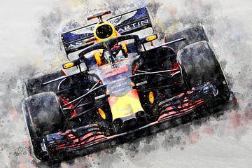 Daniel Ricciardo, 2018, F1 van Theodor Decker