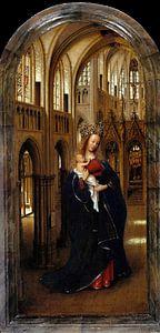 Jan van Eyck - De Madonna in de Kerk van
