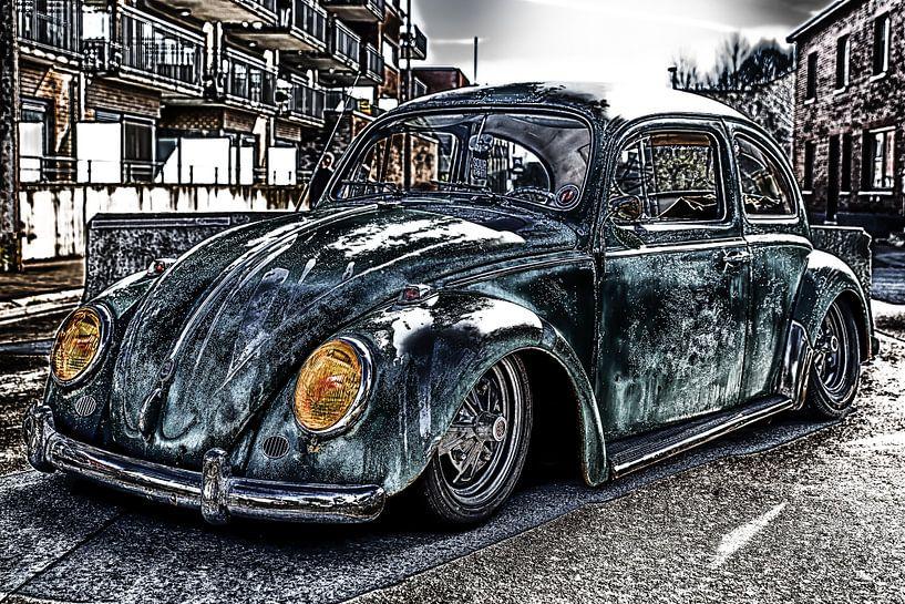 Volkswagen Beetle  van Ronald De Neve