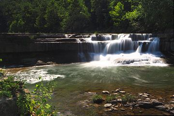 De Lower Taughannock Falls in New York State van