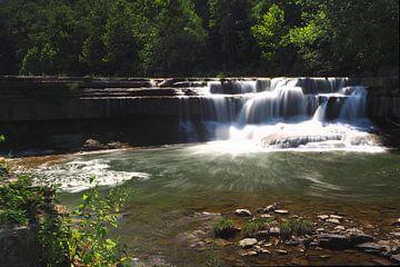 Die Lower Taughannock Falls im Staat New York State von Wilco Berga