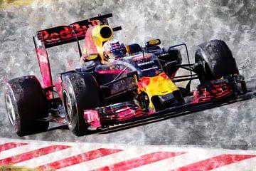 Daniel Ricciardo von Theodor Decker