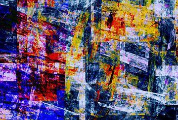 Abstracte samenstelling 483 van Angel Estevez
