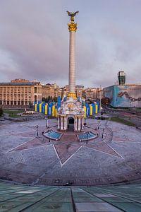Maidan in Kiev, Oekraïne van