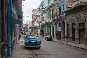 Scène de rue à Cuba
