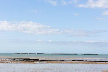 Meerblick Normandie von Matty Maas