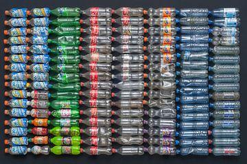 Plastiksuppe, PET-Flaschen von Floris Kok