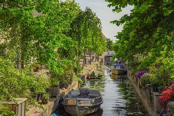 Gracht in Leiden van Dirk van Egmond