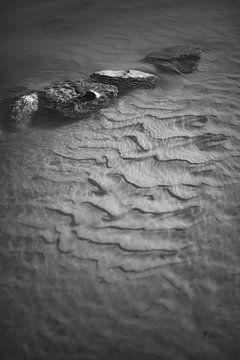 Steine in der IJssel von Douwe Deinema