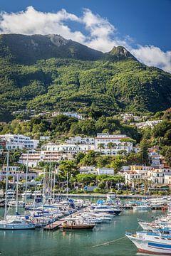 Hafen von Casamicciola Terme, Ischia, Italien von Christian Müringer
