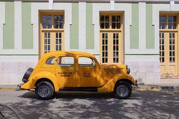 Gelber Ford in Trinidad von Tilo Grellmann | Photography