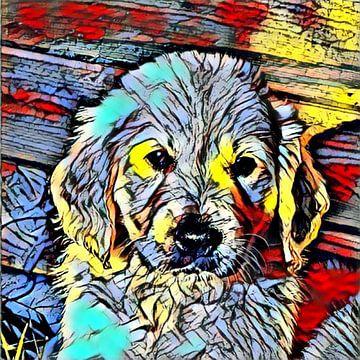 Color Kick Animal -Puppy von Angelika Möthrath