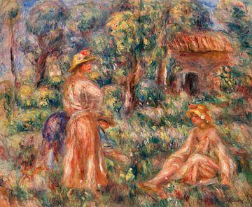 Renoir, Junge Mädchen in einer Landschaft (1918)