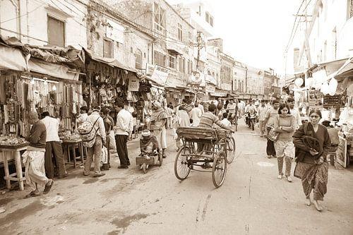 Straat in  Haridwar, India
