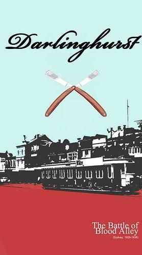 Darlinghurst, Sydney - Australia - The Battle of Blood Alley van