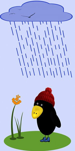Regen kommt