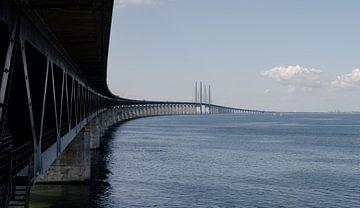 Øresundsbrug, Zweden van Willem van den Berge