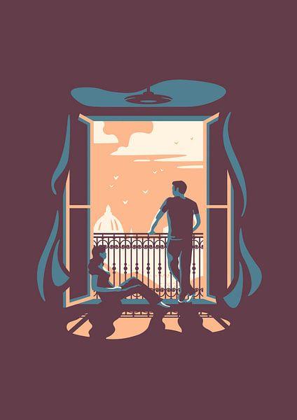 The window van Rene Hamann