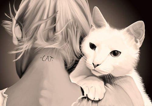 Cat  sur