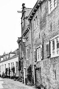 Amersfoort Utrecht Nederland Zwart-Wit