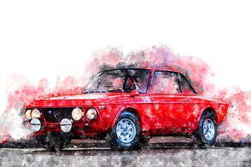 Lancia Fulvia HF von Theodor Decker