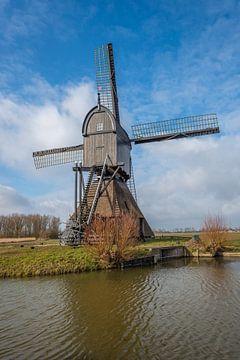 Noordeveldse molen in Dussen van Ruud Morijn