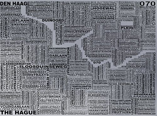 Den Haag typography