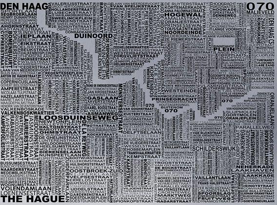 Karte von Den Haag