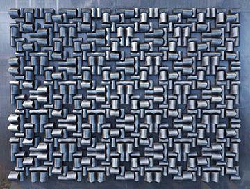 Relief H1 Edelstahl von Frans Blok